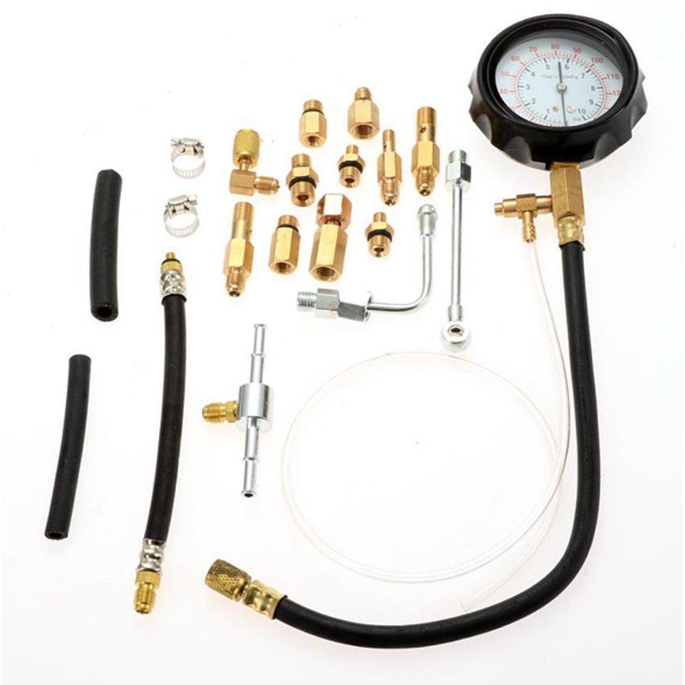 Eapmic 140psi TU-144 Fuel Injection Pressure Pump Manometer Car Gauge Test Tool Kit