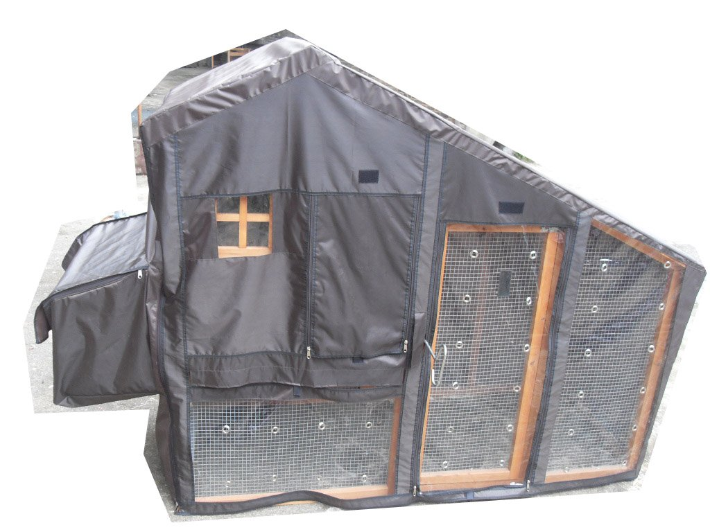 BUNNY BUSINESS Hutch cover for the Lodge