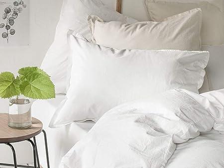 Copripiumino Matrimoniale On Line.Essix Soft Line Copripiumino Matrimoniale Cotone Bianco 220 X 240