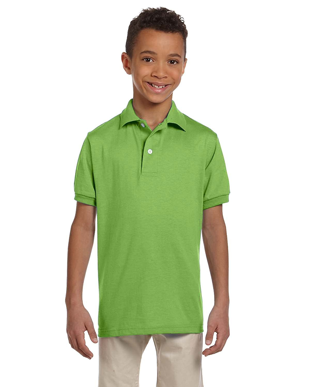 Jerzees Youth 50//50 Jersey Polo 437Y