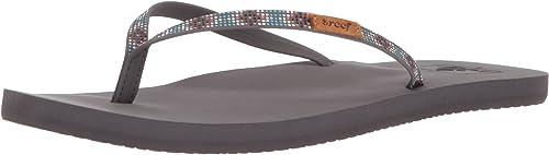 Reef Women/'s Slim Ginger Beads Flip Flops Beach Style