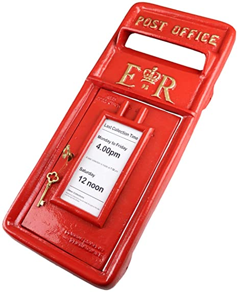 Royal Mail Letter Box.Er Post Box Postbox Letter Box Front Only Cast Iron