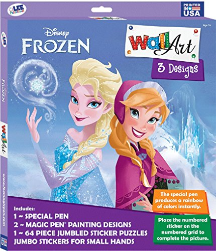 (Wall Art Box Set: Magic Pen & Sticker Puzzles - Disney Frozen)