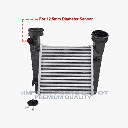 Amazon.com: Intercooler Charge Air Cooler for VW Volkswagen Passat 1.8L Turbo Premium 3B0145805H New: Automotive