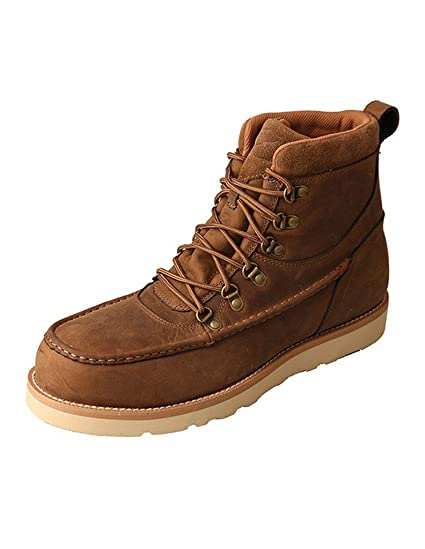 Twisted X MenS Casual Shoe  Color Distressed Saddle Mcaaw01  HSTUL7D5X
