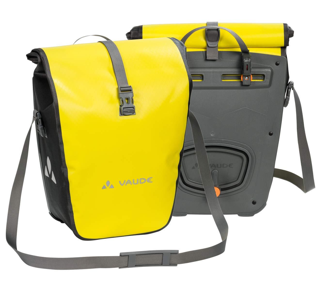 8fba055ee70 VAUDE Aqua Back – Juego de 2 bolsas para bici adaptables a la carga e  impermeables