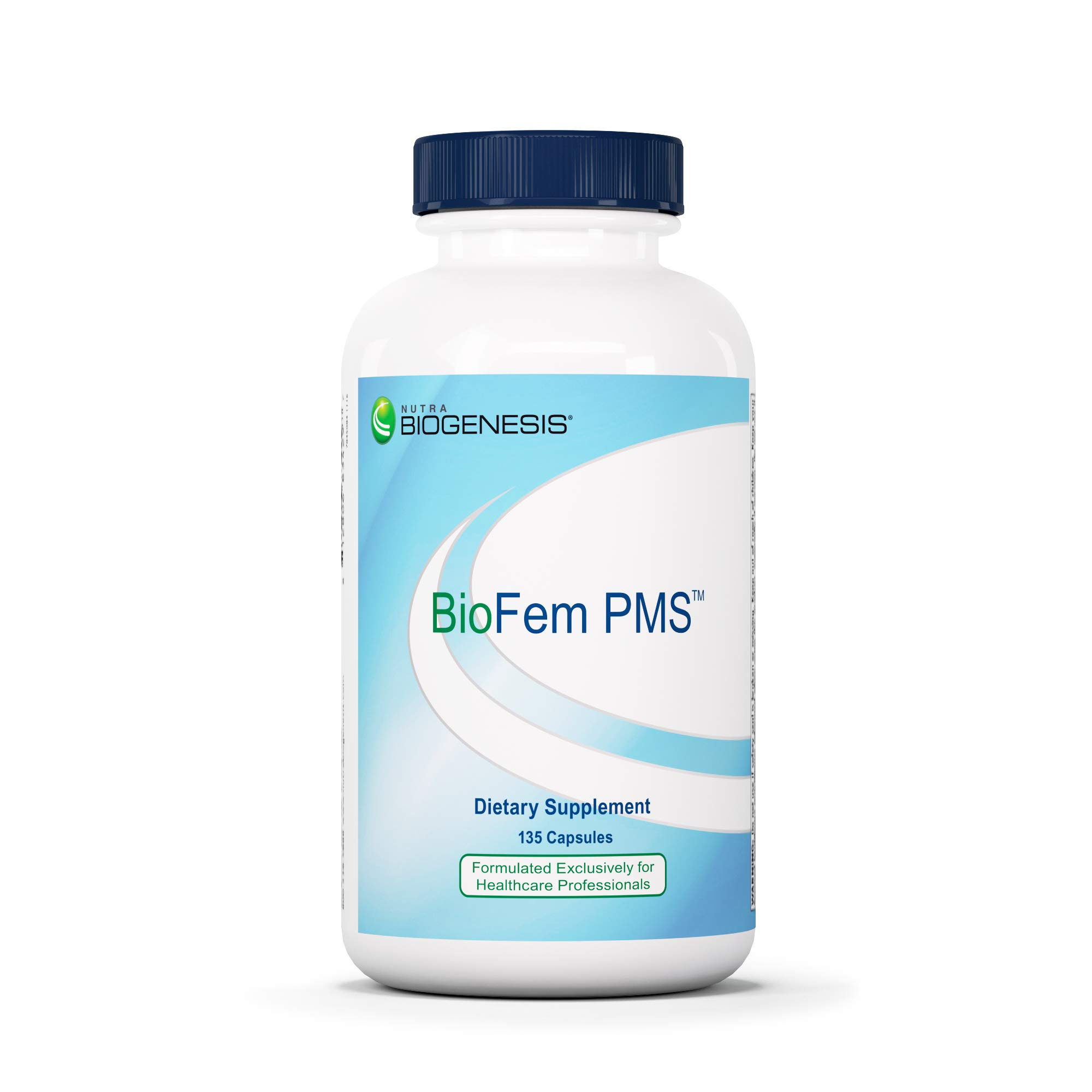 Biogenesis BioFem PMS - Wild Yam, Tumeric, Dong Quai, and Black Cohosh to Support PMS Relief - 135 Capsules