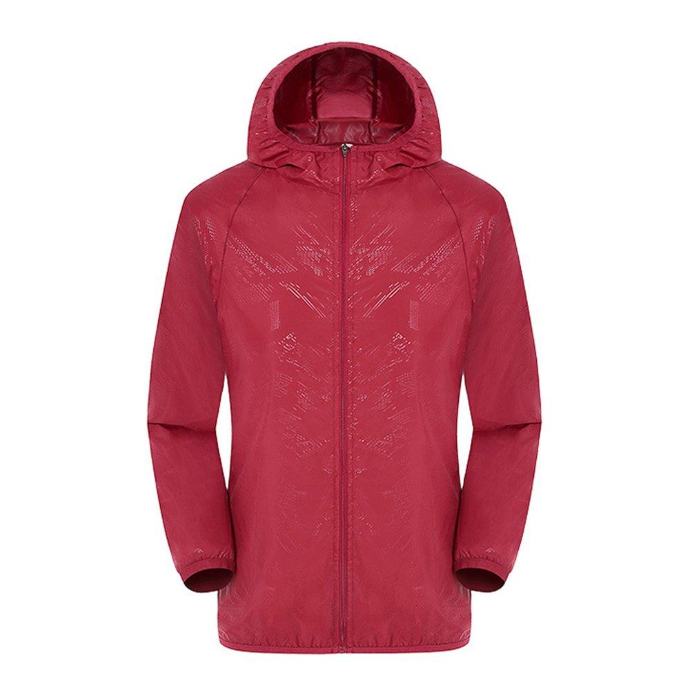 Women's Lightweight Outdoor Running Windbreaker Jacket UV Protect Skin Coat