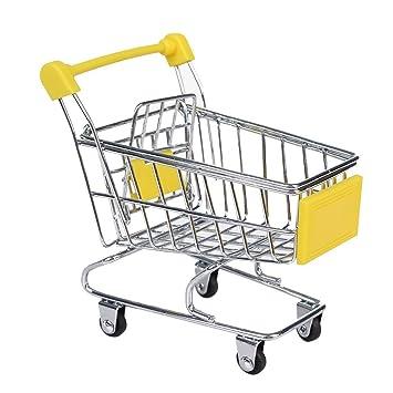 Inteligencia Sporer Mini Supermercado Carrito de la compra carrito mascotas pájaro loro hámster juguete: Amazon.es: Productos para mascotas