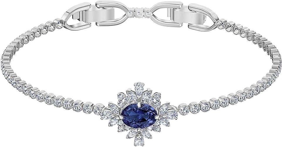 Swarovski Bracelet Palace Bleu: Amazon.fr: Bijoux