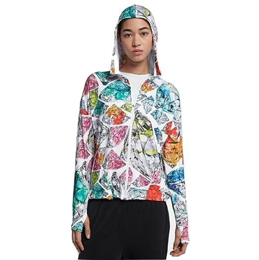 Nike Hooded Printed Dry Training Women's Jacket WBroeQdxEC