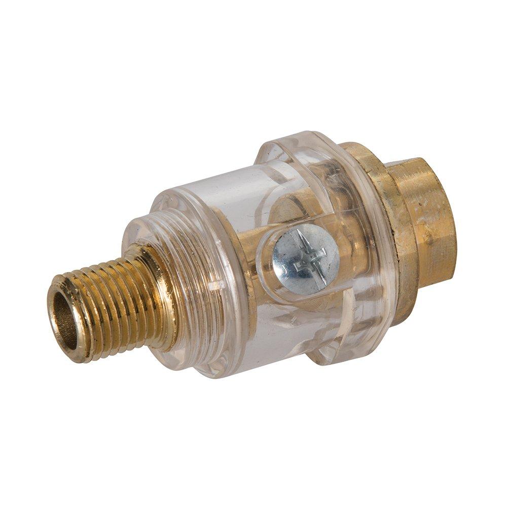 Silverline 456965 - Mini lubricador de lí nea (BSP 1/4') Toolstream