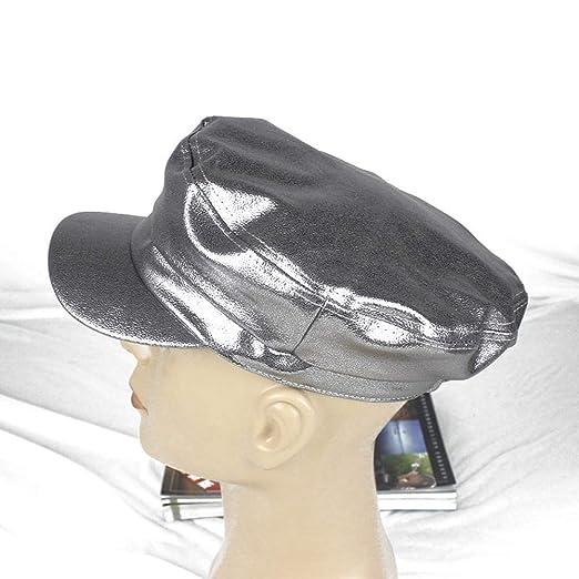 xiaochicun Sombrero Azul Marino Gorra de Moda Salvaje versión ...