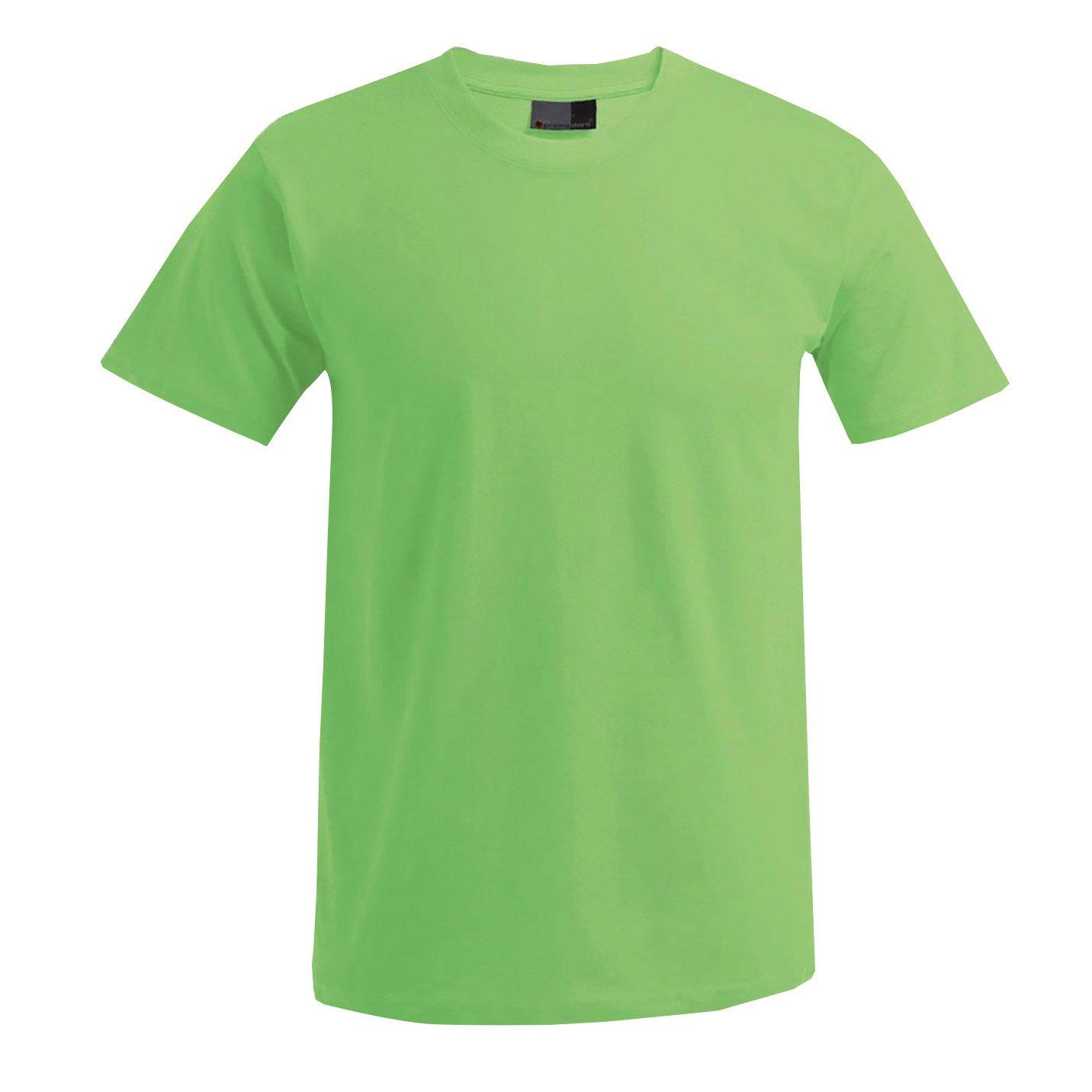 Promodoro 3099-WL-XL T-Shirt Premium Grö ß e XL in wild-limettengrü n