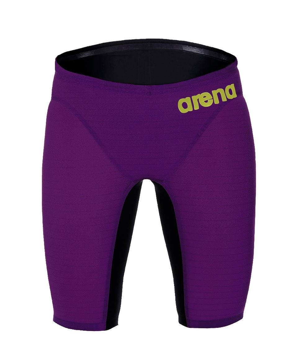 arena Carbon Air Jammer (28, Plum/Fluo Yellow)