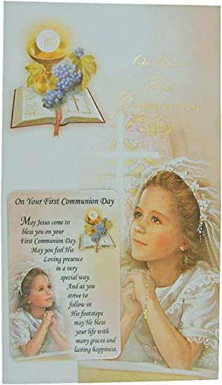 First Holy Communion Gift Bag Medium Best Wishes Your First Communion Boys Girls