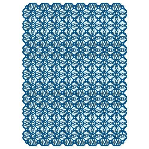 Spellbinders Grand Impressabilities Sea Flowers Template