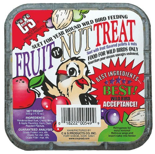 Fruit Suet Treats (C&S Fruit n' Nut Treat)