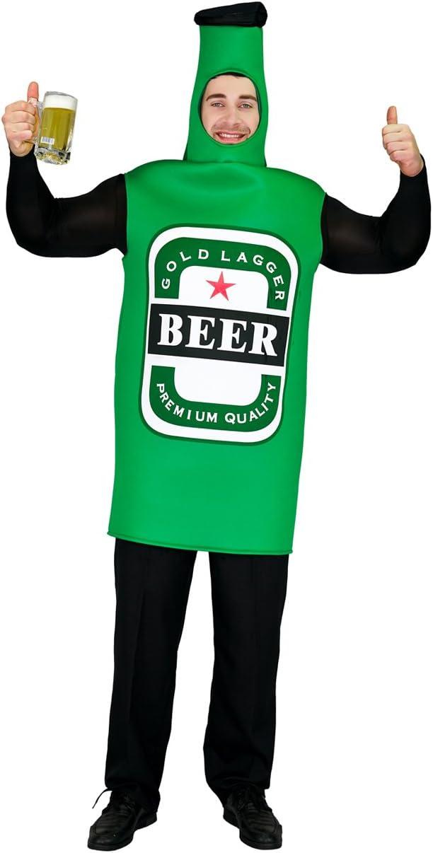 SEA HARE Disfraz de Botella de Cerveza Oktoberfest Unisex: Amazon ...