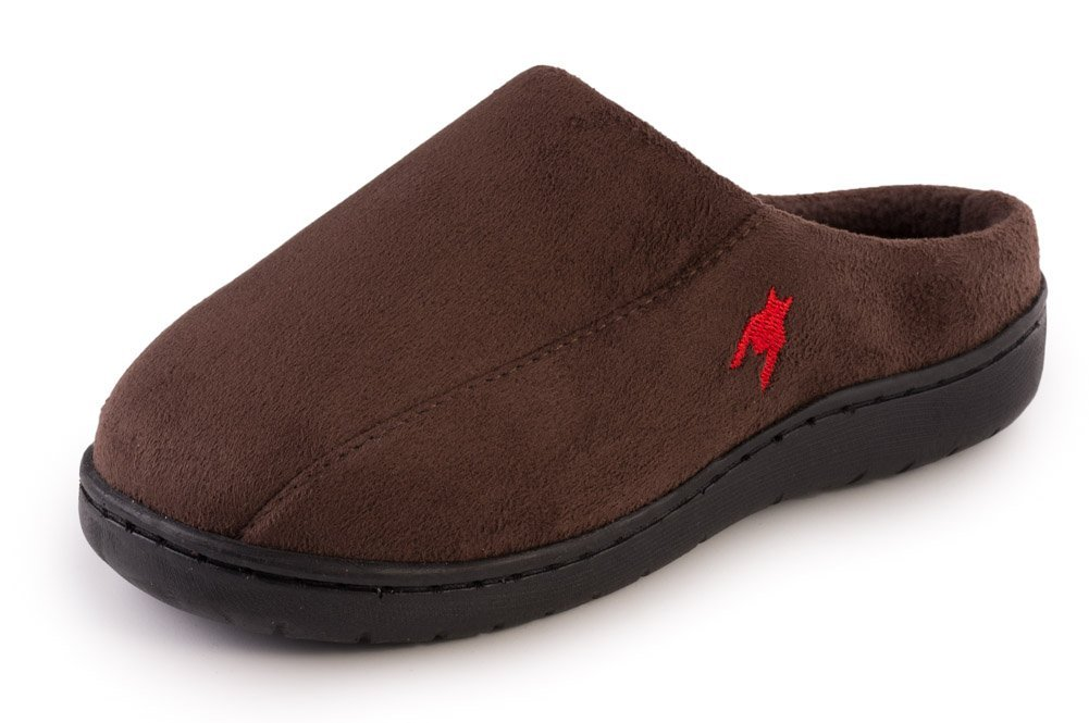 """Beyond boys"" Boys New Suade, Comfortable and Relaxing Slip-on Clog Slippers(RUNS 2x SMALL)"