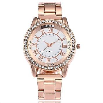 ba681ce5f07c Reloj de Mujer Reloj para Hombres Moda Casual Negocio Deporte Cuarzo Banda  de Acero Inoxidable Mármol