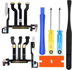 MMOBIEL LCD Flex Cable Connector Replacement Kit Compatible with Apple Watch Series 3 42mm GPS Edition incl. Adhesives