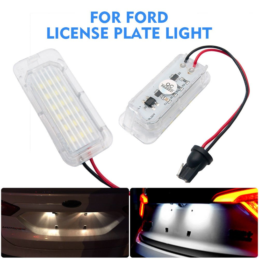 63262755711,63267165735 LICENSE PLATE LIGHT 63267193294 OEM 63266913913 MASO LED Licence Number Plate Light No Error