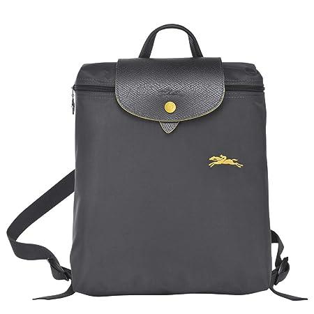 LONGCHAMP Le Pliage Logo Backpack Gun Metal  Amazon.co.uk  Luggage 99cc546b29082