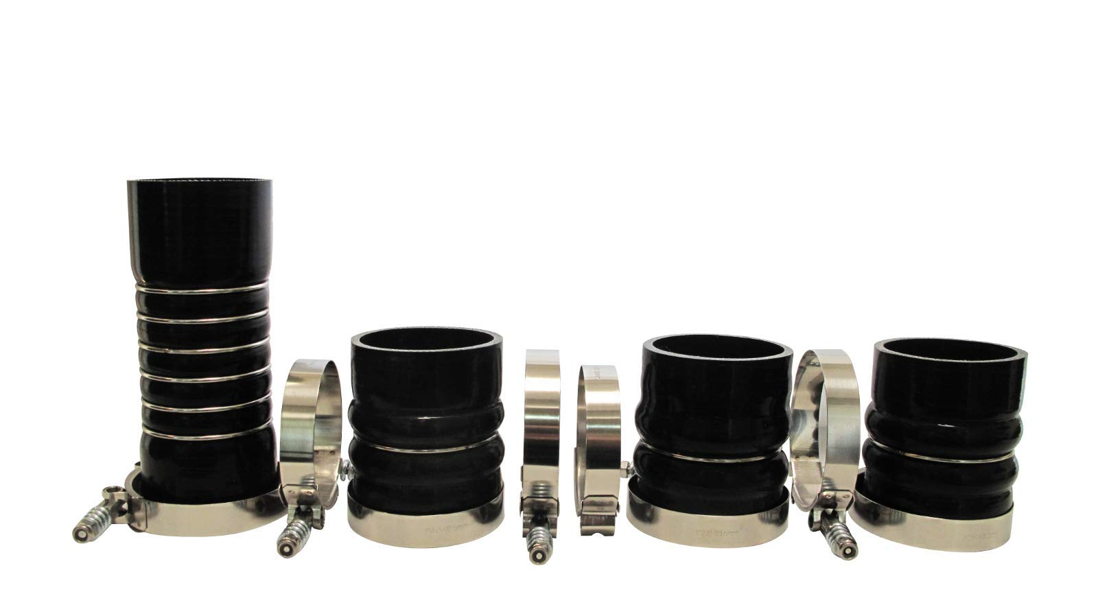 Upgraded 5 Ply Silicone CAC Boot Kit For 5.9L 03-07 Dodge Cummins
