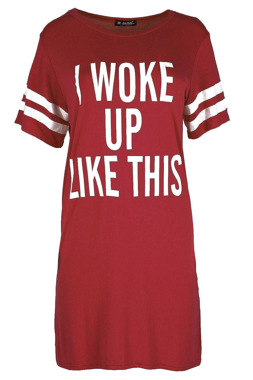 Be Jealous Women's Baggy Dress Cap SleeveI Woke Up Like This Jersey T Shirt for sale