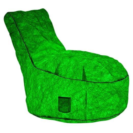 Silla portátil con luz LED, sofá Inflable Luminoso para Fiestas ...