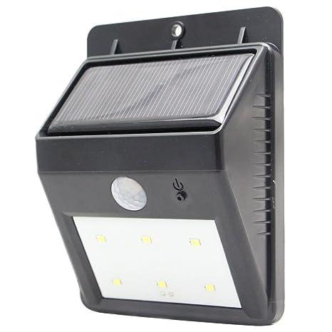 ZINSUN Bright Outdoor Solar Lights Motion Sensor Detector Weatherproof Wireless Exterior Security Outdoor Lighting For Patio