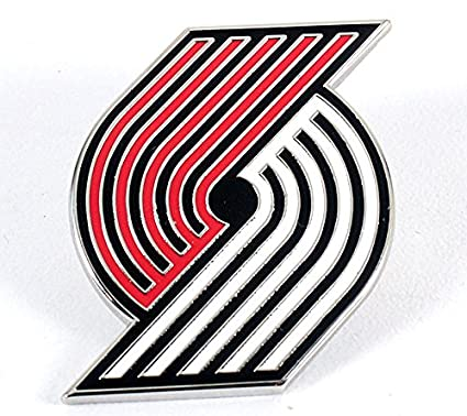 Buy Aminco Portland Trail Blazers Logo Pin Online At Low Prices In India Amazon In