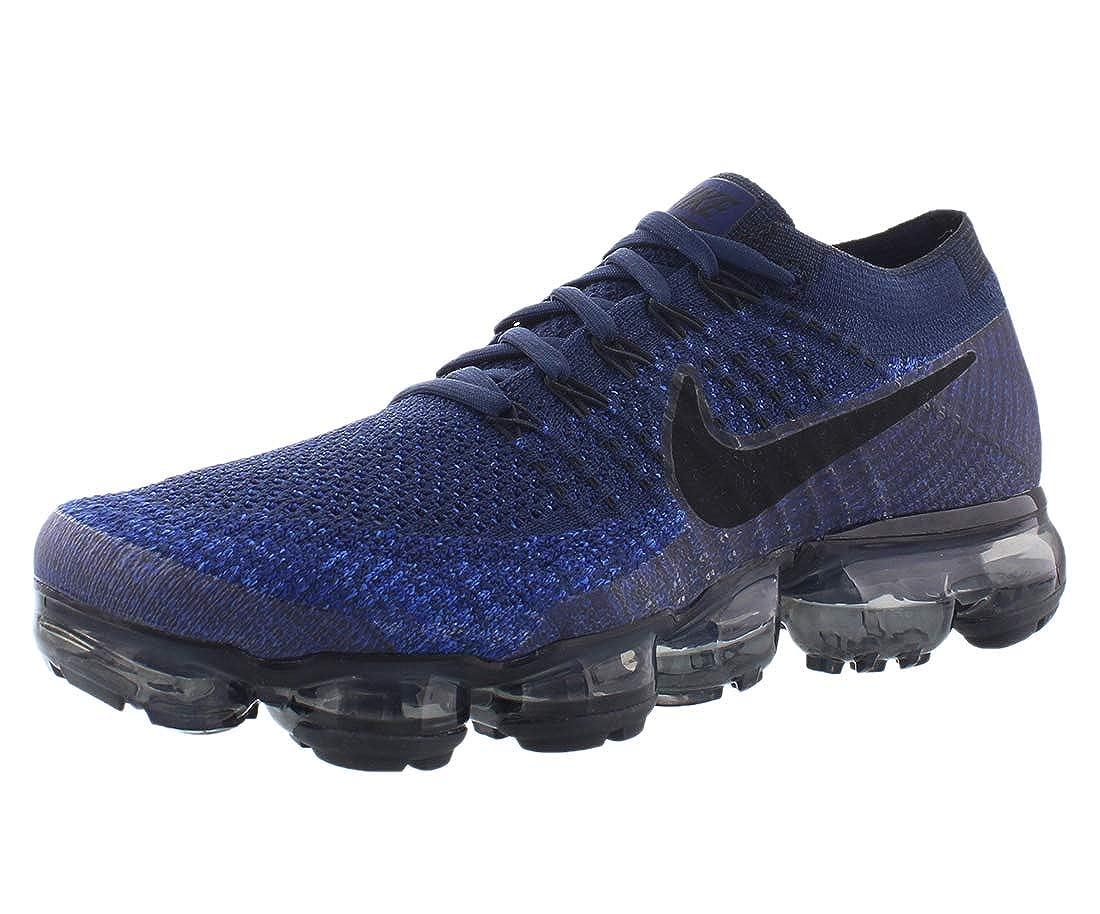 9714f2927cad9 Nike Air Vapormax Flyknit Midnight Navy 849558-400 Black Game Royal Men s  Shoes (7)  Amazon.ca  Shoes   Handbags