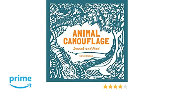 Animal Camouflage: A Search and Find Activity Book: (find