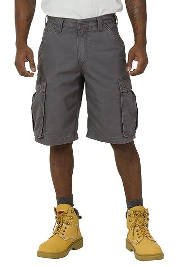 3d4121876f Carhartt Rugged Cargo Shorts - Grey Work Shorts 100277 039 Mens Workwear  CS.100277.039: Amazon.co.uk: Clothing