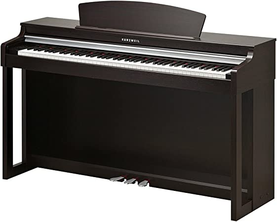 Kurzweil MP120 Piano digital de palisandro oscuro: Amazon.es ...