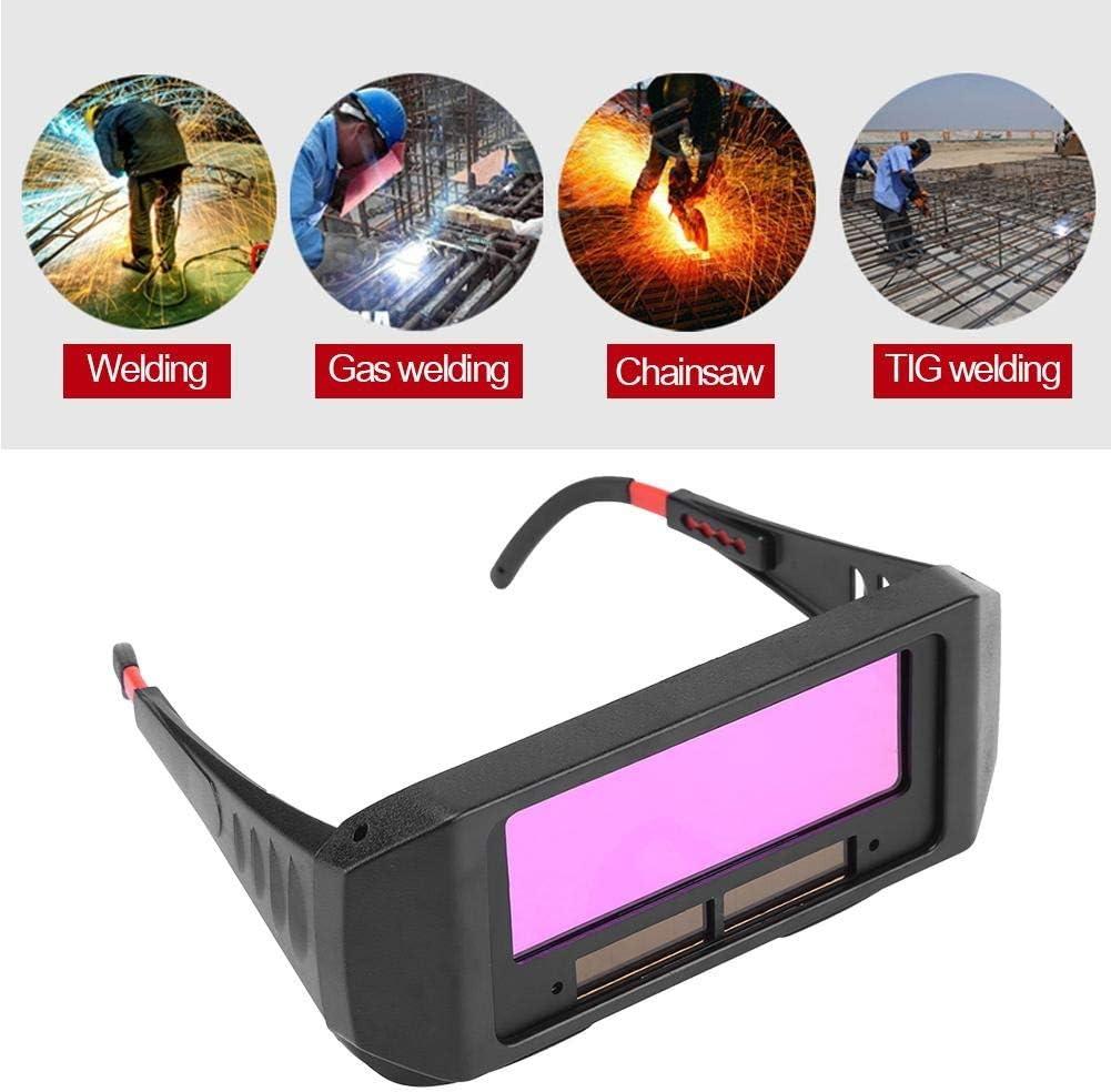 Eyes Goggles Soudeur solaire /à assombrissement automatique Lunettes TIG MIG Lunettes de soudage Soudeur S/écurit/é Protecteur