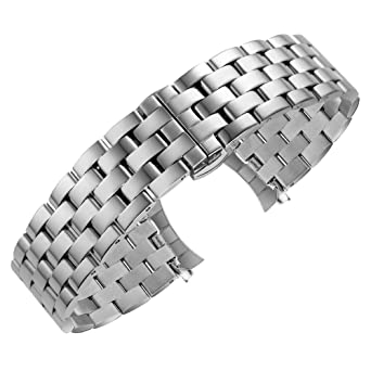 poliert für Damen und Herren Edelstahlarmband Edelstahl Armband