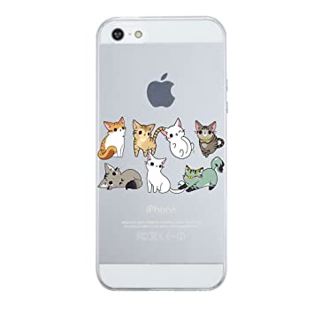 Amazon.com: AIsoar Compatible for iPhone SE Case, iPhone 5 ...