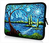 ProfessionalBags Universal 17 inches Laptop Netbook Bag Sleeve Case Cover for 17.1 17.3 17.4 inch Apple Macbook Pro IBM Acer Sony Lenovo Toshiba Satellite Alienware m17x HP Pavilion DV7 Dell Inspiron 17R XPS Gateway Notebook