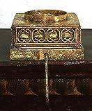 Pedestal Stocking / Ornament Holder Pair Set| Gold Ornate Hanger Hook Review
