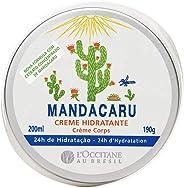 Creme Hidratante Desodorante Corporal Mandacaru L'Occitane au Brésil 200ml