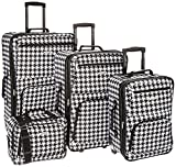 Rockland Luggage 4 Piece Luggage Set, Kensigton, One Size
