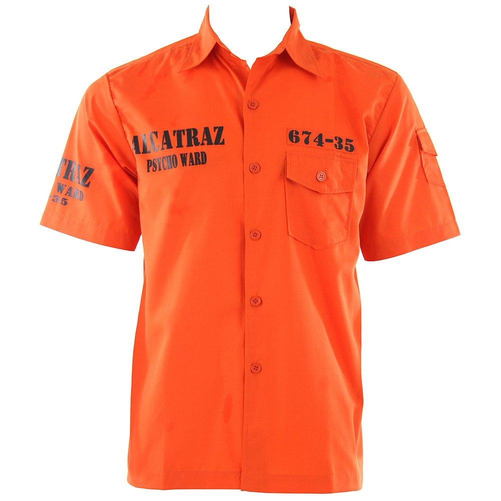 Banned Camicia Alcatraz (Arancione)