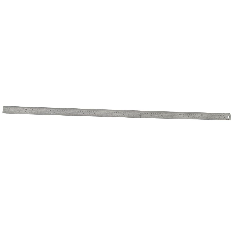 Aus nichtrostendem Stahl Lineal 1m / 40Zoll Metrisch/Zö llig Umrechnungstabelle TE597 AB Tools