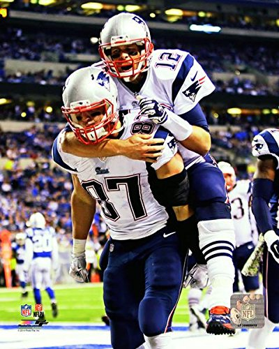Image Unavailable. Image not available for. Color  Tom Brady Rob Gronkowski New  England Patriots ... 6507c1583