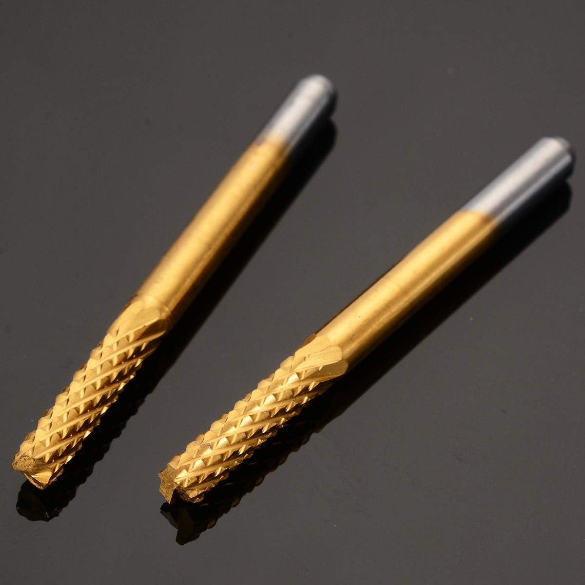 JKCKHA 10pcs Carbide Micro Drill Bits CNC PCB Engraving End Mill Tool Set 1//8 Shank 0.8//1.0//1.2//1.4//1.6//1.8//2.0//2.2//2.4//3.17mm Drill