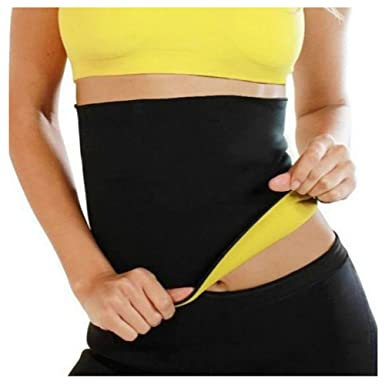 68cce4528a ZAIQUN Sauna Shaper Belt Waist Trainer Corset Neoprene Yoga Fitness Slimming  Hot Sweat Shaper  Amazon.co.uk  Clothing