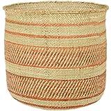 Woven African Iringa Storage Basket - Large
